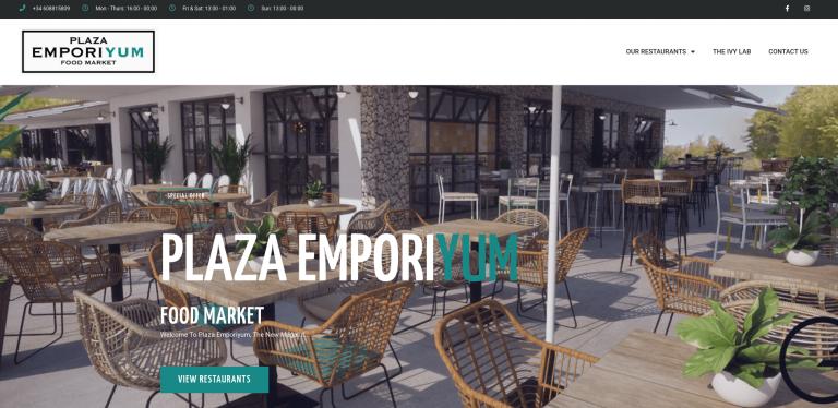 Plaza Emporiyum website